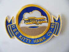 INSIGNE PATCH US NAVY USN USS KITTY HAWK CV-63 / MARINE USA