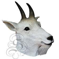 Mountain Goat-cabeza de animal de látex Elaborado disfrazarse Carnaval Fiesta Máscaras De Teatro