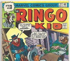 The RINGO KID  #27 Very Rare 30 Cent Western Price Variant from May 1976 in VG-