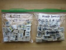 Huge Lot of 50 Bundles of # 1213 & 1229 Washington Stamps  5,000 Used US Stamps