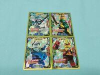 Lego Ninjago Serie 5 Trading Card  4 x Limitierte Auflage LE12 LE13 LE14 LE15