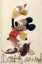 WALT DISNEY Signed Sketch - Mickey Mouse Illustrator / Animator - Preprint