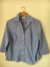 Marks And spencer Size 14 Poly Cotton Half Length Sleeve <T5075