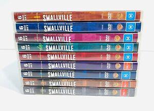 Smallville: Complete Season 1 - 9 | DVD Series Box Set |Superman VGC 🇦🇺