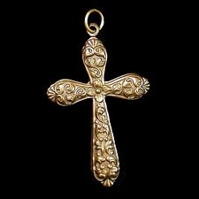 Copper Cross Crucifix  Necklace Pendant NEW