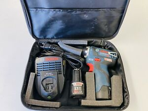 Bosch 12-Volt Max Brushless 3/8-Inch Drill/Driver Kit PS32-02 with 2 Lithium-Ion