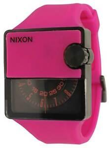 Nixon Rubber Murf Watch - Shocking Pink - New