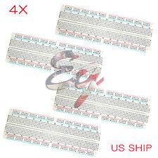 4X MB-102 830 Point Prototype PCB Breadboard For Aduino Raspberry Pi