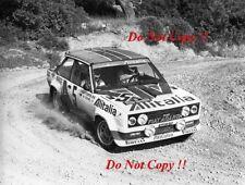 Walter Rohrl ALITALIA FIAT 131 ABARTH vincitore ACROPOLIS RALLY 1978 fotografia 4