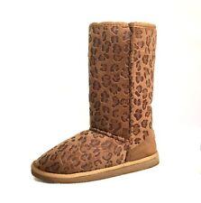 NEW Women/Girls Classic Mid Snow Boots Winter Flat Heel w/ Fur Lining Shoes-430