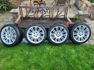 "Mercedes E Class W211 Sport Alloy Wheels 18"""