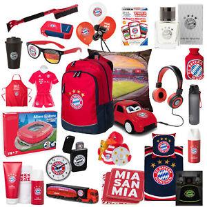 FC Bayern München Fanartikel Ball, Uhr, Brille, Ballons, Ente, Kissen, Tasche..