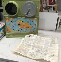 Vintage 1969 Ideal ELECTRONIC RADAR SEARCH GAME High Seas Espionage No. 2114-7
