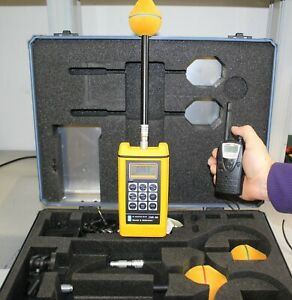 Wandel & Goltermann NARDA EMR-300 EM radiation meter + sonde