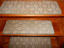 14  = Step  10'' x 30''  Woven Wool  Rug Carpet Stair Treads Staircase   W 001.