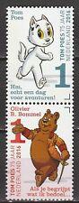 Nederland 2016 3426-3427 Tom Poes 75 jaar Olivier B. Bommel - comics