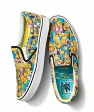 Vans X The Simpsons Springfield Comfycush Slip-On Men's Size 11