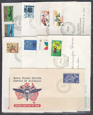 FDCS: SELECTION OF 9 COVERS IN GOOD CONDITION.