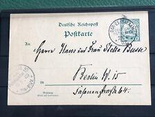 DOA Postcard Dar-es-Salaam. went to Berlin.