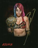 Asuka ( WWF WWE ) Autographed Signed 8x10 Photo REPRINT ,