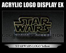 BANDAI ACRYLIC LOGO DISPLAY EX Star Wars Yellow logo Ver.