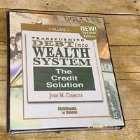 Transforming Debt into Wealth System John Cummuta 2 Audio CD's, Workbook Vol 3