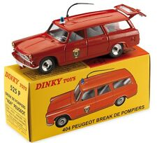 disponible DINKY NOEL 2016 ATLAS PEUGEOT 404 BREAK POMPIERS PARIS REF 525 P 1/43