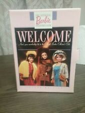 The Official Barbie Collecters Club Membership Welcome Kit 2nd Edition