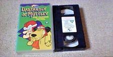 DASTARDLY & MUTTLEY UK PAL VHS VIDEO 1994 Hanna-Barbera Cartoon Catch The Pigeon
