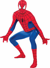 Amazing Spider-Man Party Suite Costume Marvel Comics Size Adult Large New PC884