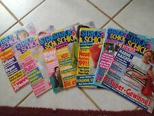 Zeitschrift Strick und Schick 7 Stück (1988-1992)