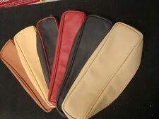 MG  MGB   ALL LEATHER  ARMREST COVER