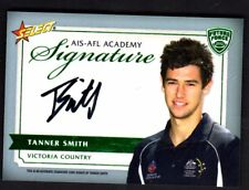 2012 AFL Select Future Force AIS-AFL Academy Signature Card Tanner Smith  #130