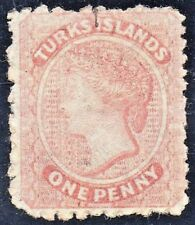 TURKS ISLANDS Sc #4 Very Light Cancel USED