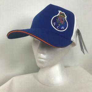 NEW New Balance FC Porto Mens Football Soccer Supporter Snapback Cap Hat
