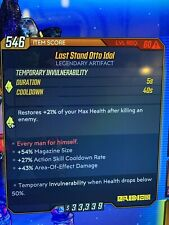 Lv 60 God Roll Mayhem 10  Last Stand Otto Idol Xbox