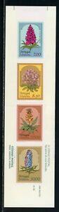 Madeira Scott #80a MNH BOOKLET COMPLETE Flowers FLORA CV$6+