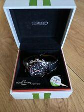 Seiko Sportura F1 Honda Racing Team Chronograph Leather Strap BOXED