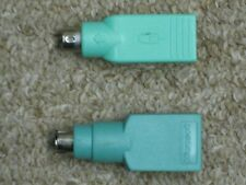 (2) USB to PS/2 Keyboard/Mouse Adapters  (1067)