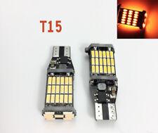 3rd Brake T10 T15 168 194 2825 12961 LED Amber Canbus Bulb K1 For Hyundai HAK