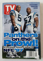 August 30-September 5, 1997 TV Guide ~ CAROLINA PANTHERS regional variant cover