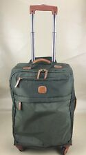 TROLLEY BRIC'S X-TRAVEL CABIN SIZE SPINNERS Carry On Suitcase BXL38117 078 Olive