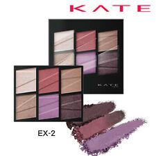 [KANEBO KATE] Tone Dimensional 6 Shades Eyeshadow Palette EX-2 PURPLE BROWN NEW
