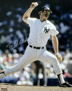 Tim Stoddard Signed Autographed New York Yankees 8x10 Photo TRISTAR