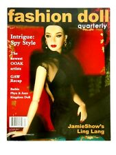 "FALL 2017 ""SPY STYLE"" A Doll's House FASHION DOLL QUARTERLY FDQ MAGAZINE_NEW"