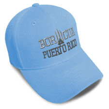 Dad Hats for Men Puerto Rico Flag Island C Embroidery Flags Women Baseball Caps