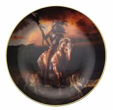 Spirit Of The Rising Sun Hermon Adams Native American Plate CP2571