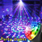 Party Disco LED Stage Magic Ball Light RGB Rotat Lights Club Decor Night Lamp UK