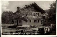 Oberammergau Bayern Oberbayern ~1940 Hochenleitner Ludwig Lang Straße Bildhauer