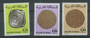 [P864] Morocco 1980 Old coins set very fine MNH stamps value $40